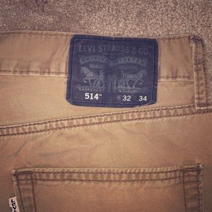 Men's Levi's khaki pants